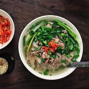 pho bo vietnamese national dish